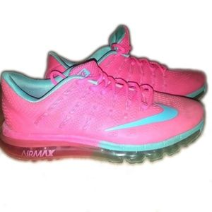 Nike Air Max 2014 pink and blue